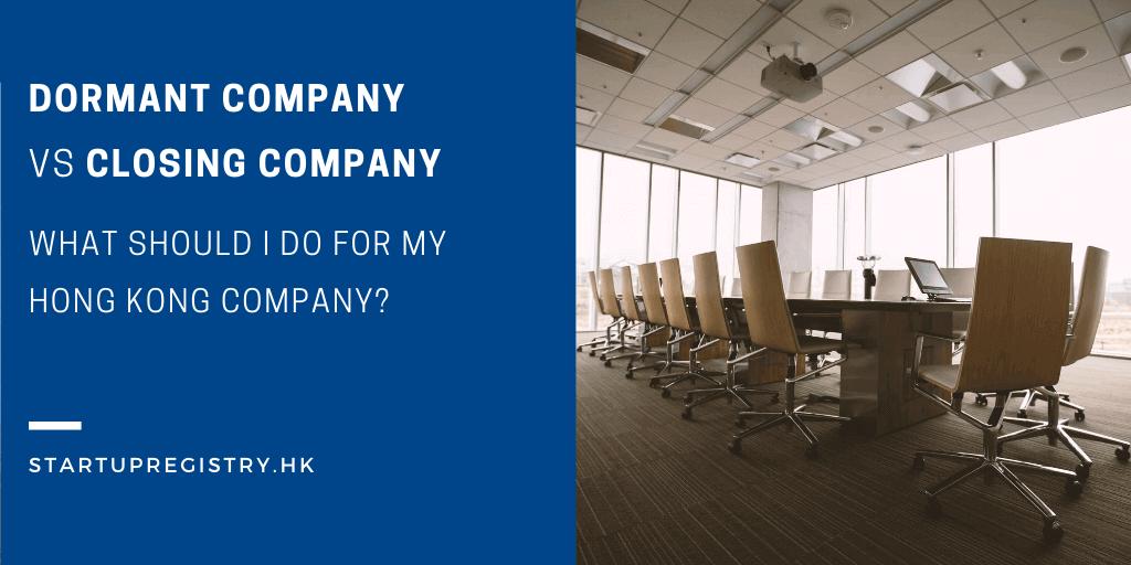 Dormant Company Hong Kong