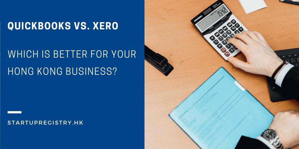 Quickbooks vs. Xero Hong Kong Business