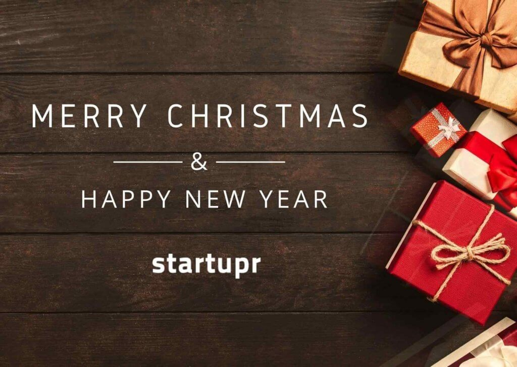 Startupr Wishes You A Merry X'Mas & Happy New Year