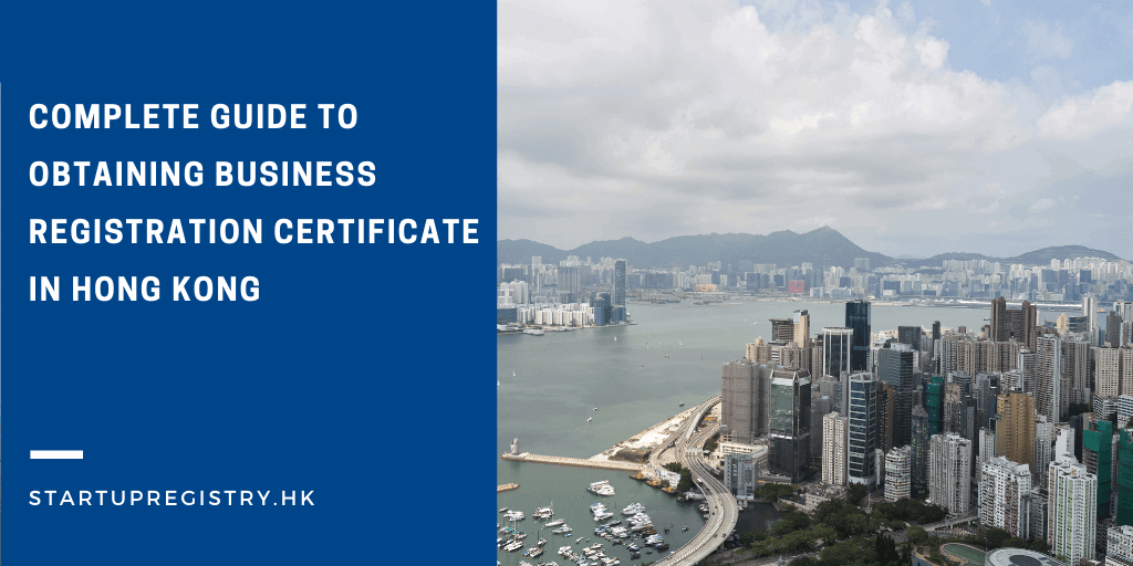 Obtain business registration certficate in Hong Kong