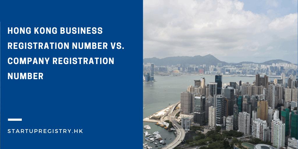 Hong Kong Business Registration Number vs. Company Registration Number