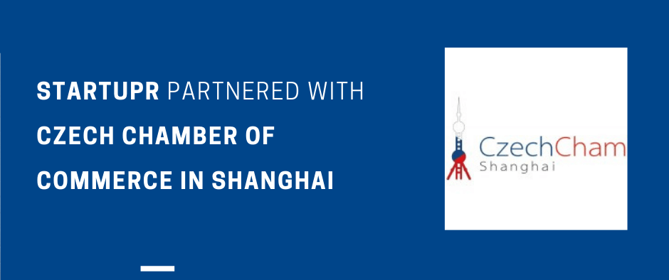 Startupr Partnered with Czech Chamber of Commerce in Shanghai